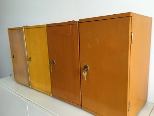 Vintage lockerkastjes