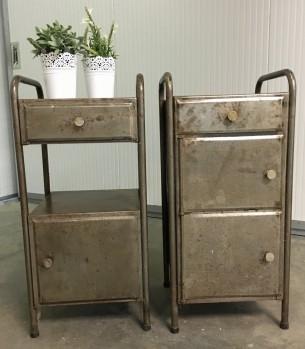 Vintage industrieel kastje