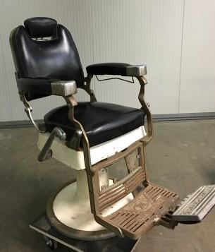 Vintage barbierstoel