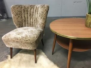 Vintage cocktailstoel