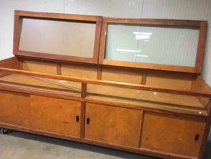 Retro vitrine/kast
