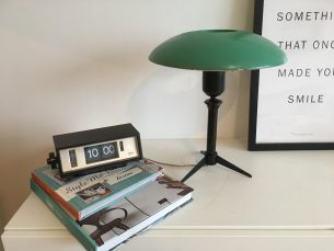 Vintage design tafellamp Louis Kalff