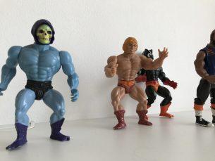 actie figuren van de jaren 80