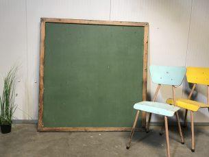 vintage krijtbord/schoolbord