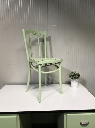 retro mintgroene stoel