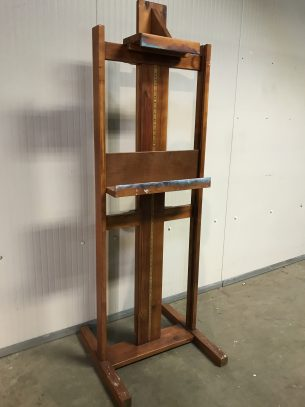 vintage houten houder